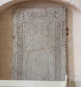 Bild des Grabsteins der Herzogin Dorothea