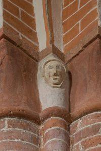 Bild vom Gewölbescheitel im LanghausLanghaus